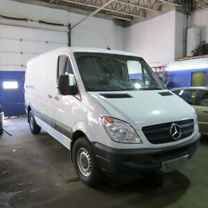 2013 Mercedes-Benz Sprinter Van Real Fourgonnette, fourgon