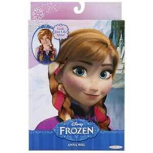 Disney Frozen Anna of Arendella Child's Wig Costume Dress Up