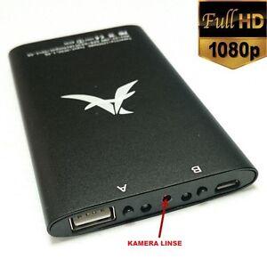 8GB-FULL-HD-POWERBANK-SPY-TELECAMERA-NASCOSTO-MINI-VISIONE-NOTTURNA