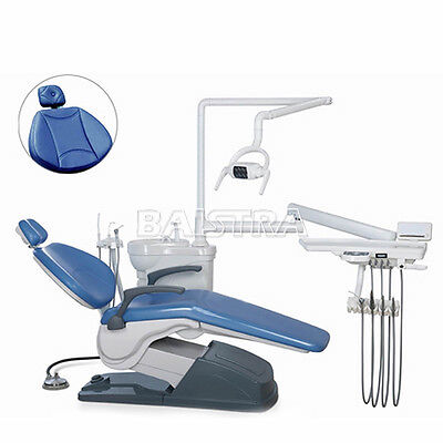 Dental Portable Unit Chair Hard Leather Dc Motor Handpiece Computer Controlled