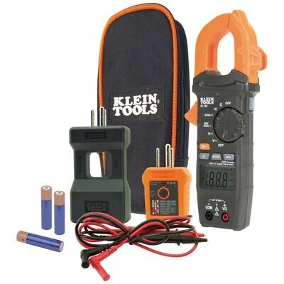 Klein Tool Cl120 Auto-ranging 400a Ac Digital Clamp Meter Kit