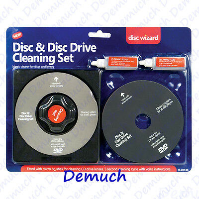 Laser Lens Cleaner Cleaning Kit for BLU RAY CD DVD PLAYER DISC PS3 PS4 XBOX 360✔
