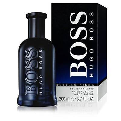 Parfum HUGO BOSS BOTTLED NIGHT EAU DE TOILETTE 200ML Neuf et sous blister