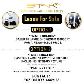 Lease for sale