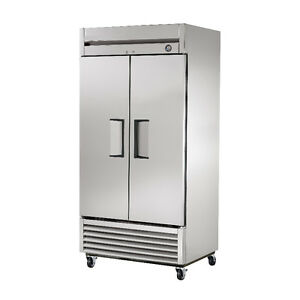 Commercial Restaurant Stainless Steel Cooler / Freezer