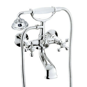 NEW Modona European Style Tub Shower Mixer Porcelain Se