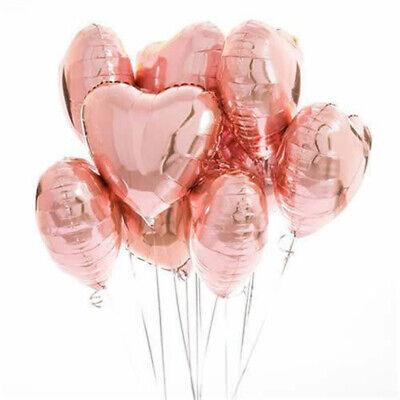 Herzform Helium Hochzeit Geburtstag Konfetti Luftballon Set (Liebe Luftballons)