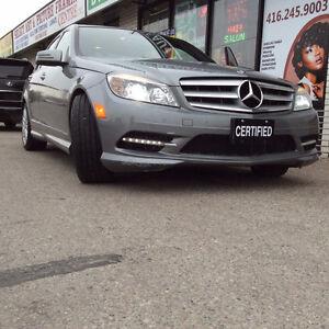 2011 Mercedes-Benz C-Class C250,REBUILT TITLE,CERTIFIED