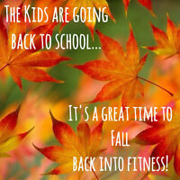 Get in shape this fall!