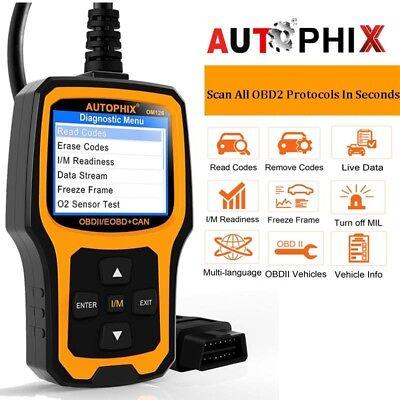 OBDII Scanner Vehicle Code Reader Auto Diagnostic Check Engine for All OBD2
