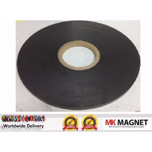 Magnetic Strip 30 Meter 12.7mm X 1.5mm  (one side is plain & one side with magnetic)