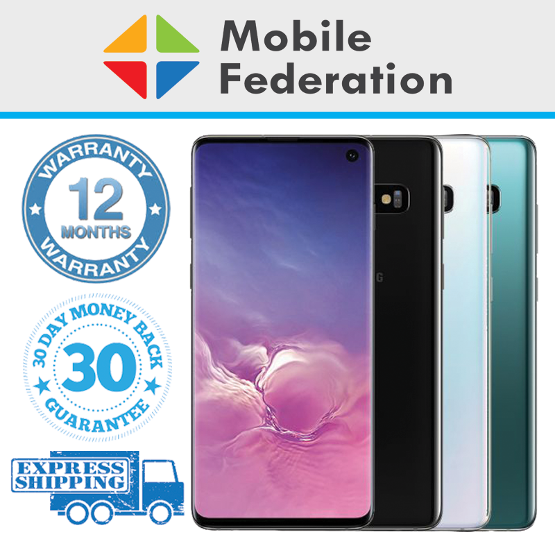 Android Phone - Samsung Galaxy S10 G973F 128GB 512GB Unlocked [Au Stock] As New Condition
