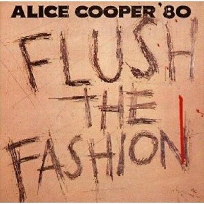 ALICE COOPER - FLUSH THE FASHION  CD NEW+