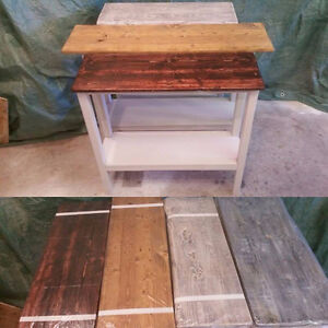 rustic entry way / coffee stations