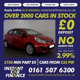 Kia Rio 2 Hatchback 1.2 Manual Petrol LOW RATE FINANCE AVAILABLE