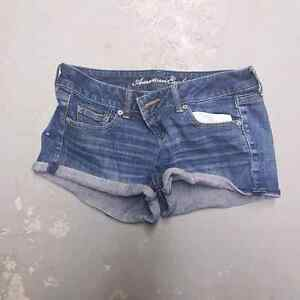 Variety of women's shorts