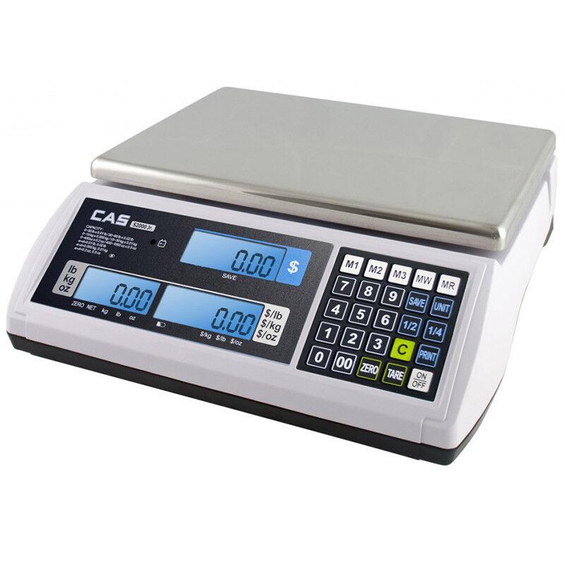 CAS S2000 Jr Price Computing Scale 60 Lb