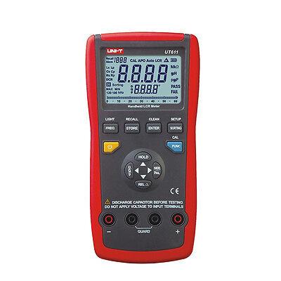 Ut611 Portable Handheld Lcr Meter 10khz Inductance Capacitance Resistance Tester