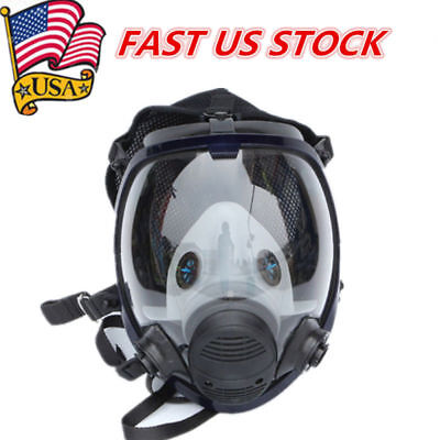 For 3m 6800 Facepiece Respirator Gas Mask Full Face Painting Spraying Similar Us