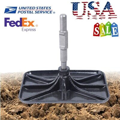 Manganese Steel Tamper Rammer Plate Compactor Rammer Plate For Paving Stones New