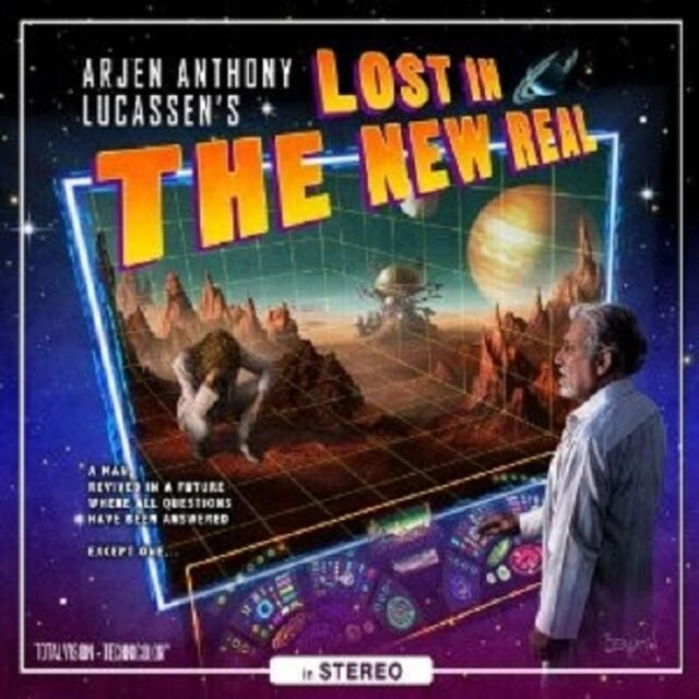 """ARJEN ANTHONY LUCASSEN """"LOST IN THE NEW REAL (LIMITED EDITION)"""" 2 CD NEU"""