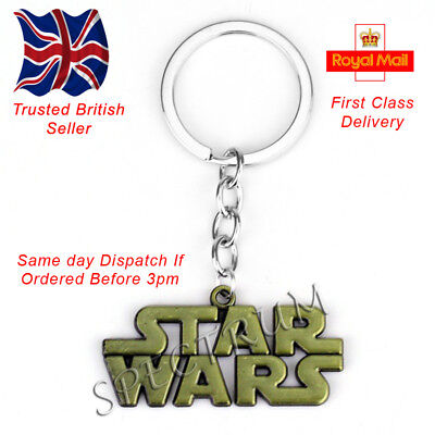 Star Wars Logo Keyring