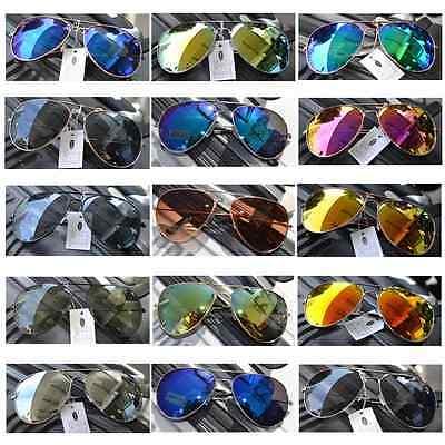Pilotenbrille  Pornobrille Fliegerbrille Sonnenbrille Brille Verspiegelt UV400