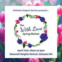 VENDORS WANTED - 'With Love' Market - OSHAWA - April 14th