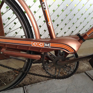 Classic/ vintage CCM 3 speed bike