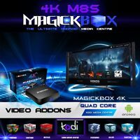 MagickBox M8S 4K S812 Quad Core Android Tv Media Box !!! KODI