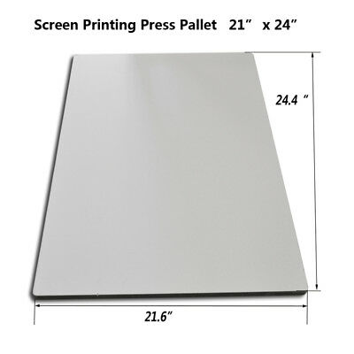 Screen Printing Square Pallet Oversize Shirt Board Advertising Press Right-angle