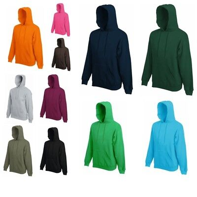 Fruit of the Loom Kapuzenjacke Hoodie Kapuzenpullover Sweatshirt Pullover S-XXL ()