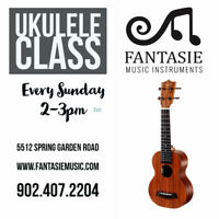 Ukulele Picking & Melody class for beginner/intermediate student