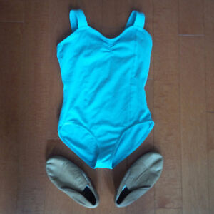 Jazz Shoes and Bodysuit in Great Condition