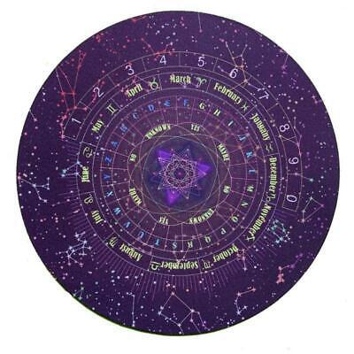 Round Pendulum Divination Tablecloth Tarots Card Pad Runes Altar Table Cloth