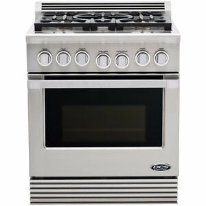 Fisher Pykel DCS Stainless Steel Gas Stove