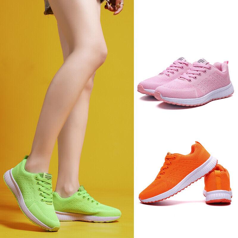 Damen Turnschuhe Laufschuhe Walkingschuhe Sneaker Sportschuhe Freizeit Gr. 36-42