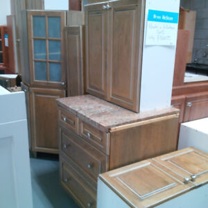 Khakis colored kitchen cabinet set for only $300