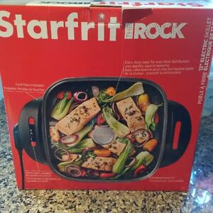 "The Rock 12"" Electric Skillet - New"