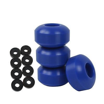 Yocaher Abec 7 Black Bearings For Pro/Regular Skateboards + Blank 52Mm Color W