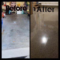 Polished concrete/Epoxy color floors--Commercial&Residential