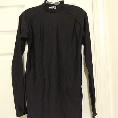 BRINE Running Long Sleeve Compression Mock New Womens MD
