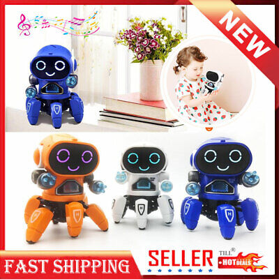 Toys for Kids Electric Smart Dancing Robot Music Led Light Toys Best  Xmas Gift ()