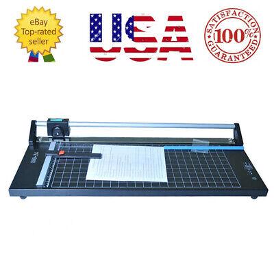 24 Precision Rotary Paper Trimmer Portable Sharp Photo Paper Cutter Machine