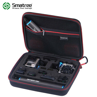 Smatree Black G260SL Carrying Case Bag For GoPro Hero 6 5 4 3+ 3 2 1 Camera