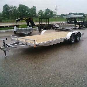 2017 STEALTH PHANTOM 20 FT ALUMINUM CAR TRAILER 5200 LB TORSION