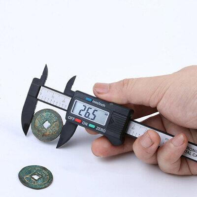 100 Mm Lcd Digital Vernier Caliper Micrometer Measure Tool Gauge Ruler
