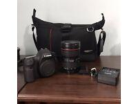 Canon EOS 6D 20.2 MP Digital SLR Camera w/ Canon EF 24-70mm f/4 L IS USM ii Lens