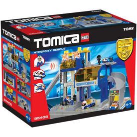 Tomy Tomica Hypercity Rescue New in box