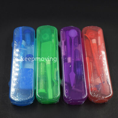 8 Pcsset Dental Care Toothbrush Kit Orthodontic Teeth Clean Floss Wax Mirror